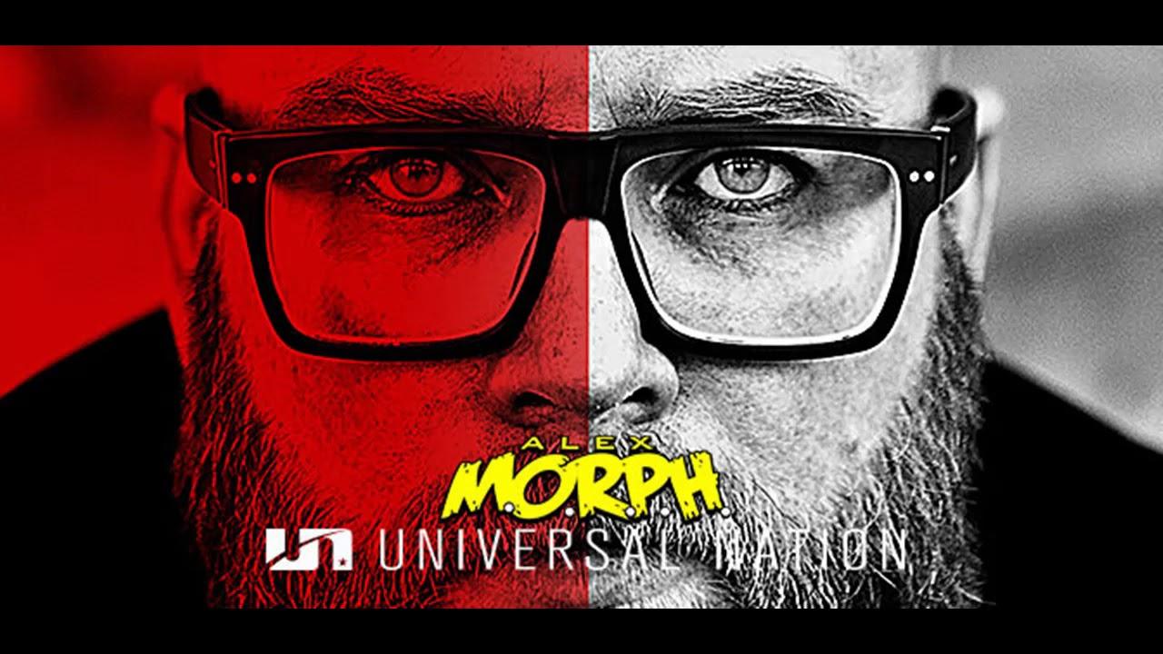 Еженедельное радиошоу Alex M.O.R.P.H. – Universal Nation